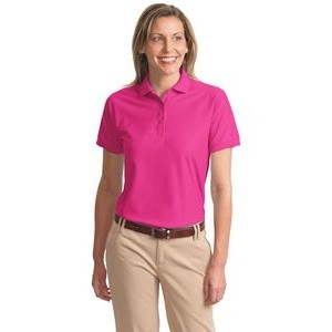 Port Authority� Ladies Silk Touch� Polo Shirt