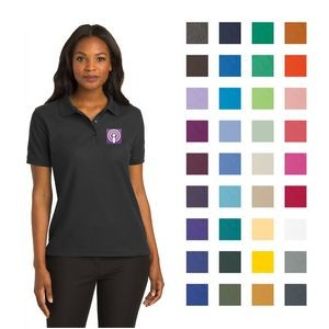 Port Authority� Ladies Silk Touch� Embroidered Polo